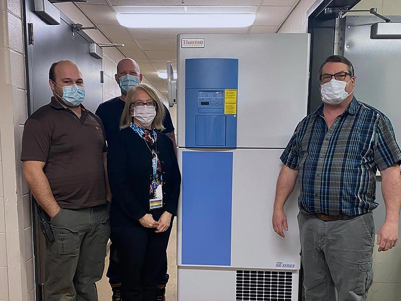 Manitoulin Health Centre Purchases Ultra Low Freezer