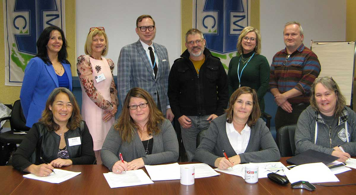 Members of the Manitoulin Collaborative support OHT submission for a Manitoulin Ontario Health Team (OHT)