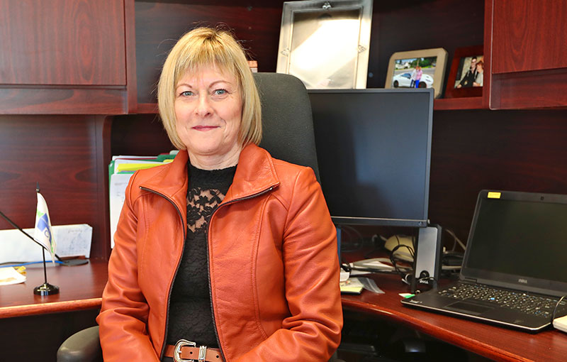 Photo of Lynn Foster, President & Chief Executive Officer