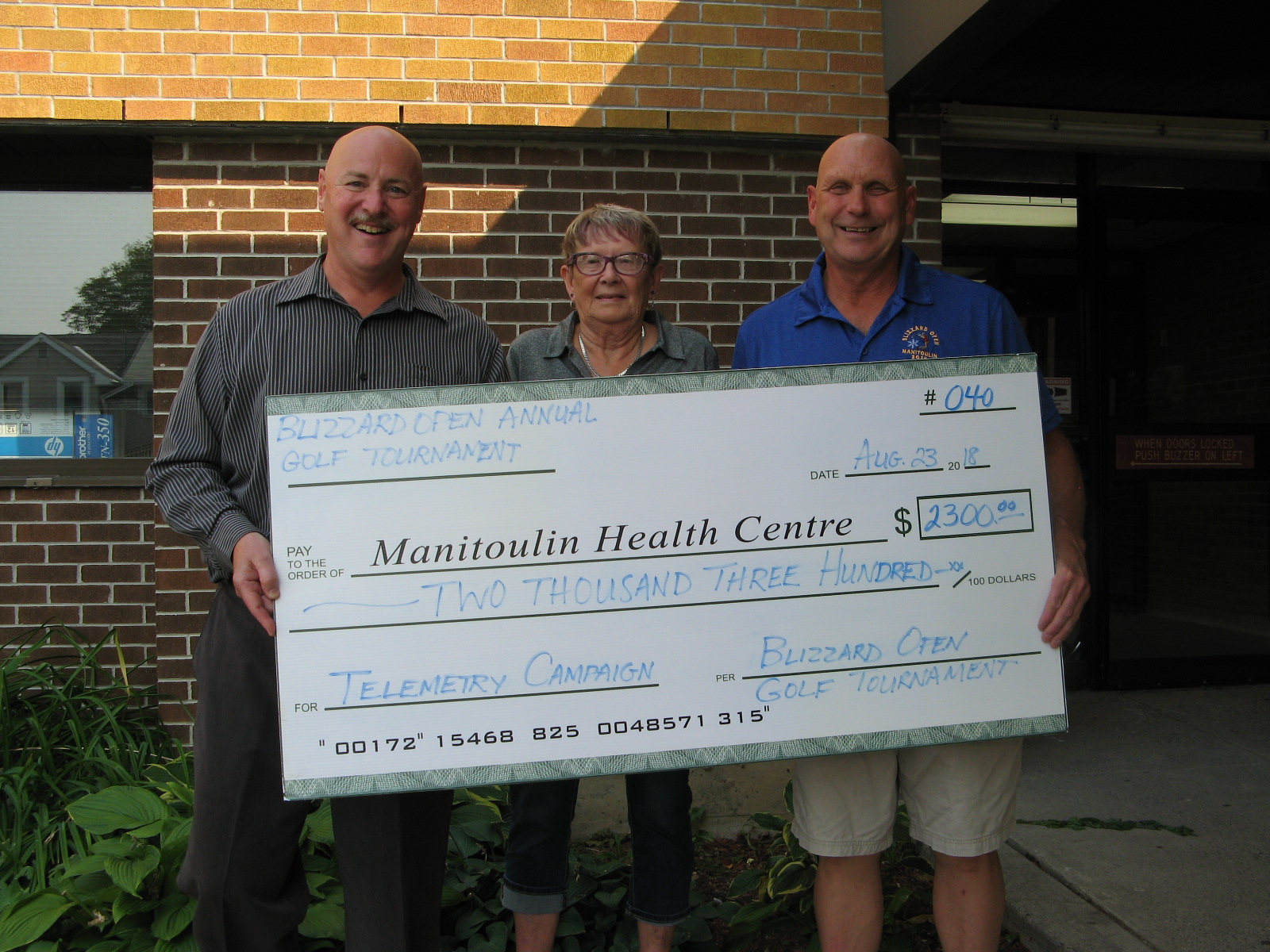 Golfers Take to the Greens Raising Funds for MHC