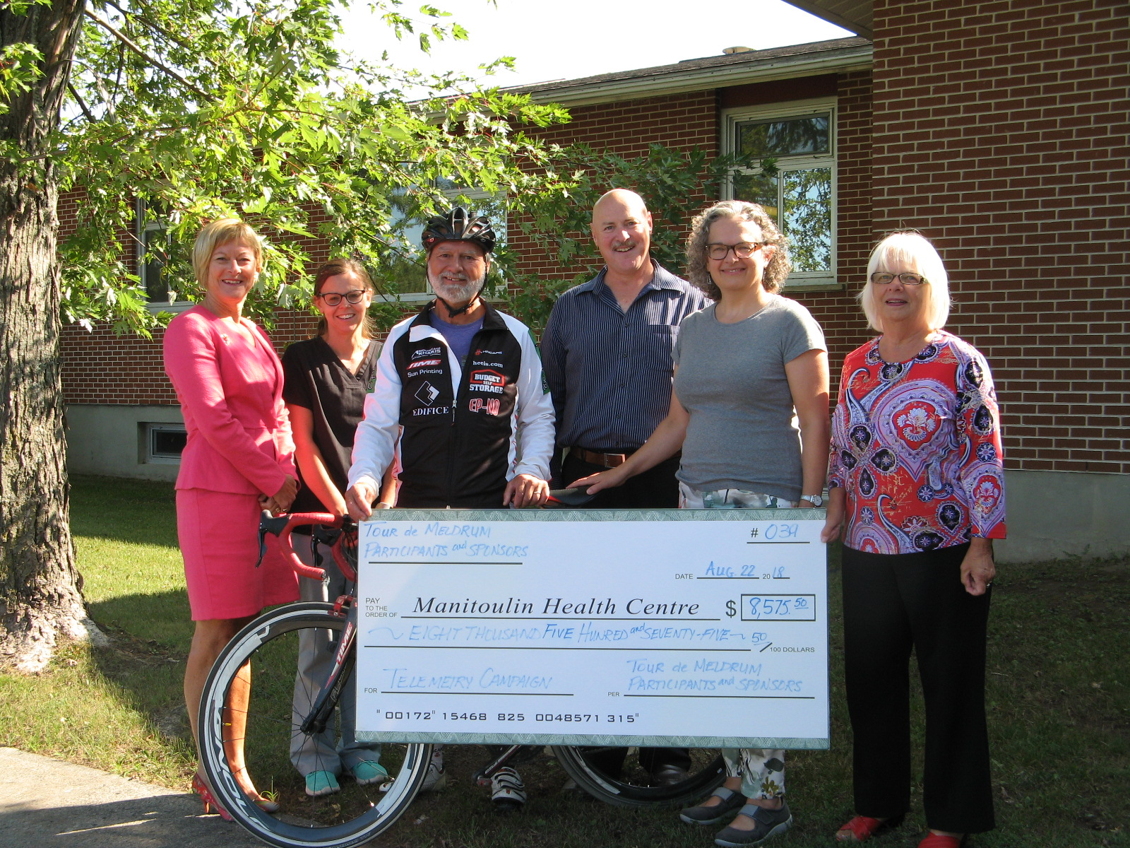 Annual Tour de Meldrum Benefits Auxiliary and MHC